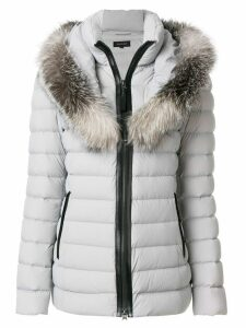 Mackage fur trimmed padded coat - Grey