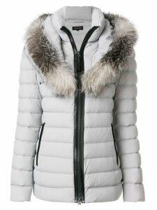 Mackage fur trimmed padded coat - Grey