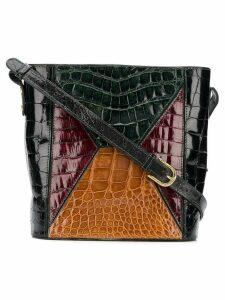 Dal Cò Vintage 1970's square shoulder bag - Green
