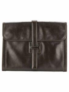 Hermès Pre-Owned Jige clutch - Brown