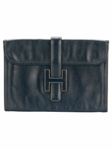 Hermès Pre-Owned Jige clutch - Blue