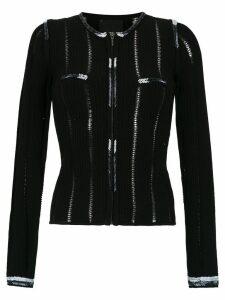Andrea Bogosian knitted blouse - Black