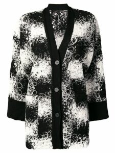 Pierantoniogaspari buttoned up cardigan - Black