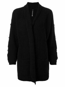 Pierantoniogaspari open front cardigan - Black