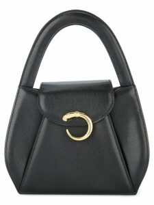 Cartier Pre-Owned Panther logos hand bag - Black