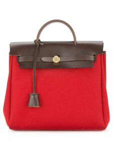 Hermès Pre-Owned Her Bag Ado PM 2 in 1 backpack bag - Red