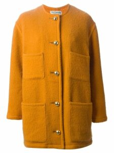 Guy Laroche Pre-Owned single breasted coat - Yellow