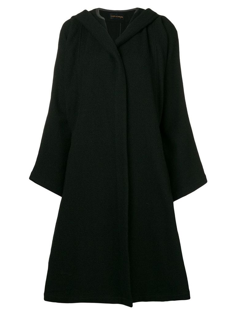Comme Des Garçons Vintage 1988 Billowing Skirt coat - Black