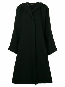 Comme Des Garçons Pre-Owned 1988 Billowing Skirt coat - Black