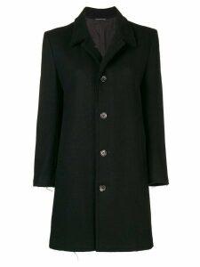 YOHJI YAMAMOTO PRE-OWNED Raw Edges coat - Blue