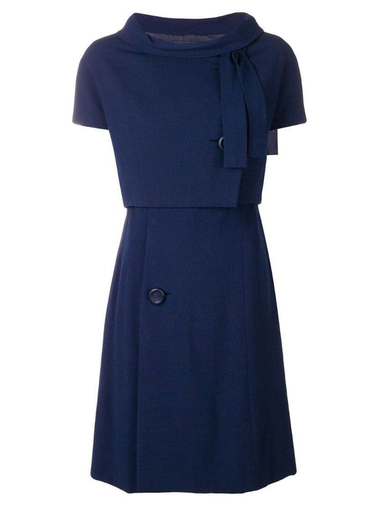 A.N.G.E.L.O. Vintage Cult 1950's A-line dress & jacket - Blue