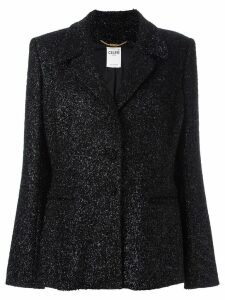 Céline Pre-Owned tinsel blazer - Black