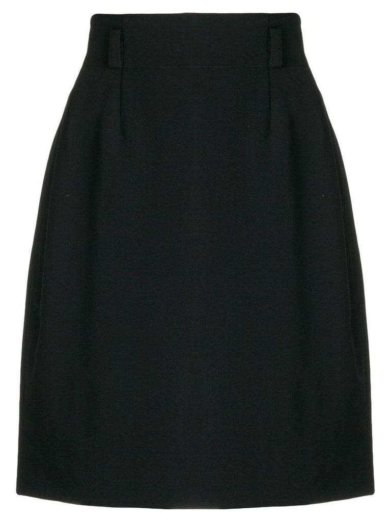 Jean Louis Scherrer Vintage Scherrer skirt - Black