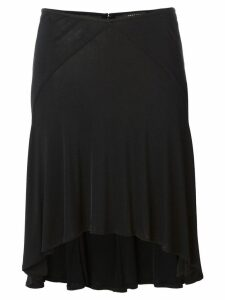 Versace Pre-Owned fluid flared skirt - Black