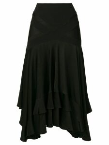 Christian Dior Pre-Owned fluid skirt - Black