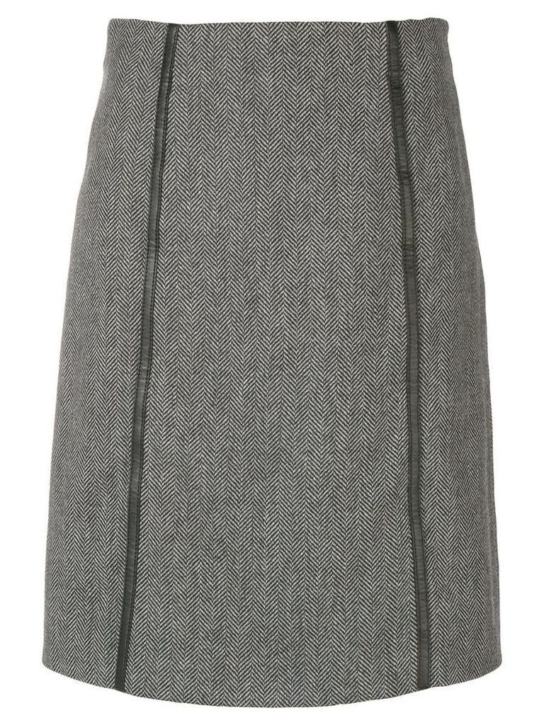 Gucci Pre-Owned 2000's fitted short skirt - Grey