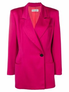 Christian Dior Pre-Owned 1990's skirt suit - Pink
