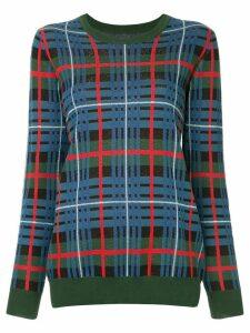 Macgraw Quantum tartan jumper - Blue