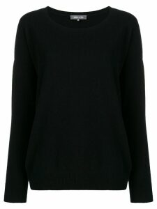 Philo-Sofie boat neck sweater - Black