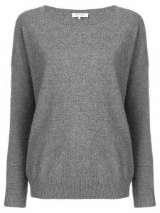 Philo-Sofie wide round neck sweater - Grey