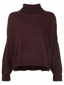 Dusan roll neck sweater - Brown