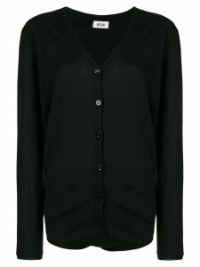Moschino Pre-Owned buttoned longsleeved bodysuit - Black