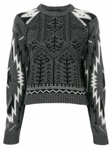 Diesel Black Gold Muard jumper - Grey