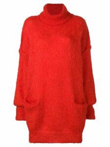 Maison Margiela oversized jumper - Red
