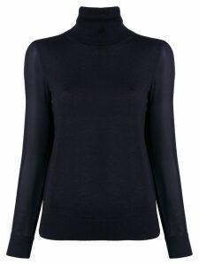 Tory Burch turtleneck sweater - Blue