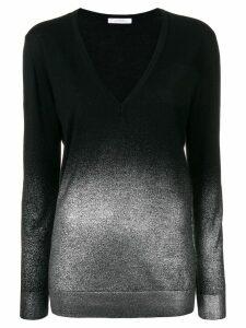 Versace Collection V-neck lightweight jumper - Black