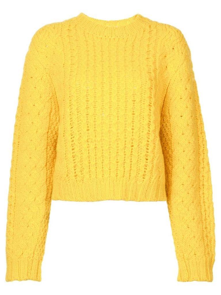 R13 chunky knit sweater - Yellow