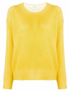 Majestic Filatures fine knit sweater - Yellow