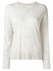 Isabel Marant Étoile v-neck loose sweater - Grey