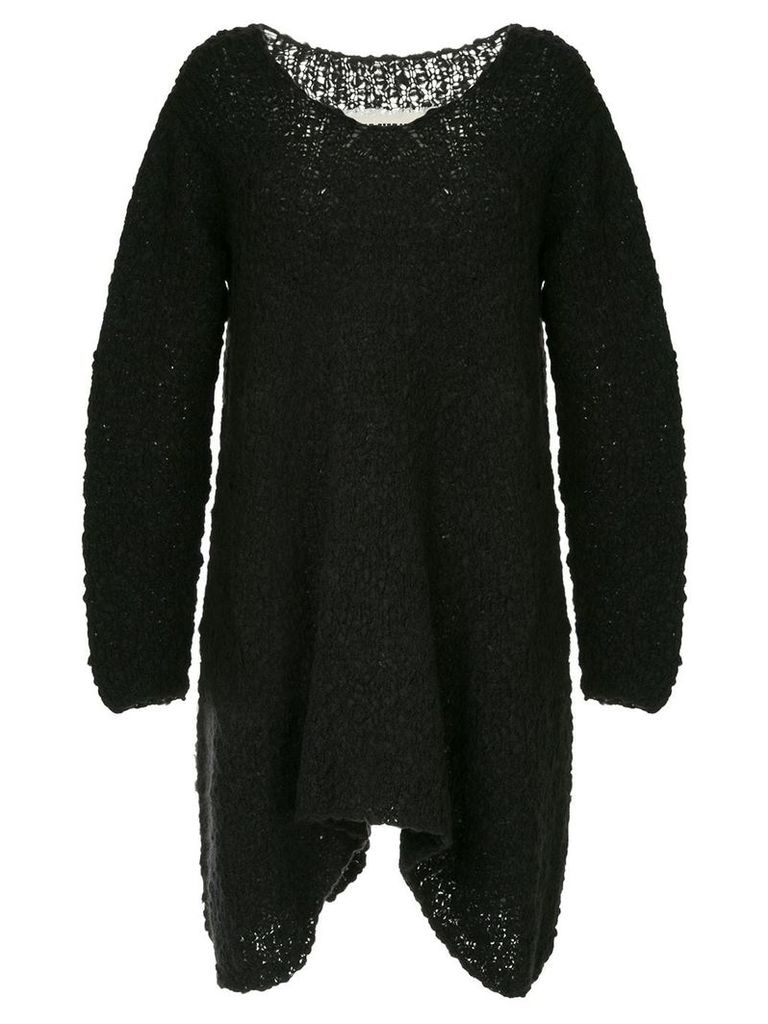 Uma Wang oversized knit jumper - Black