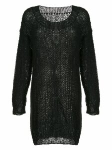 Uma Wang oversized knit jumper - Black