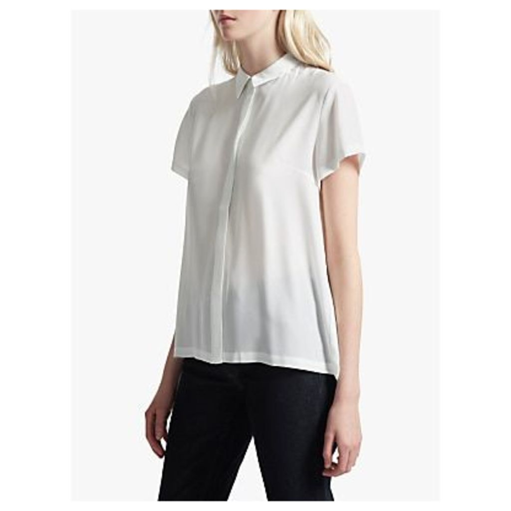 French Connection Crepe Light Short Sleeve Shirt
