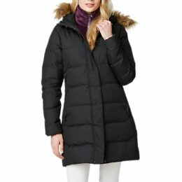 Helly Hansen Aden Down Women's Parka Jacket, Black