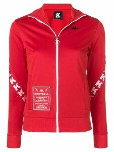 Kappa Kontroll zipped logo sweatshirt - Red