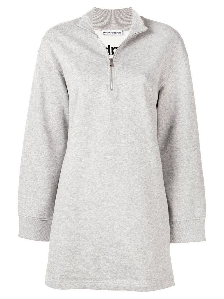 Paco Rabanne mid-length sweater - Grey