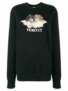 Fiorucci Vintage Angels sweatshirt - Black