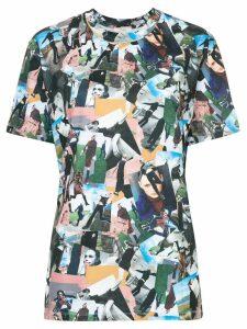System woman print T-shirt - Multicolour