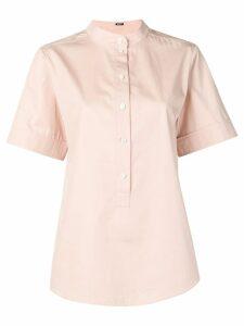 Jil Sander Navy round neck T-shirt - Pink