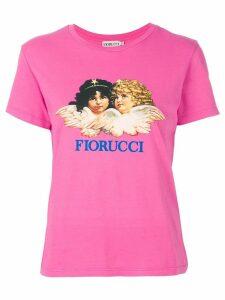 Fiorucci angel print T-shirt - Pink