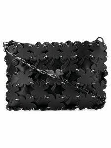 Paco Rabanne four leaf clover shoulder bag - Black