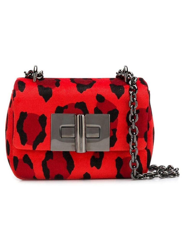 Tom Ford mini velvet bag - Red