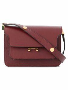 Marni mini Trunk bag - Red