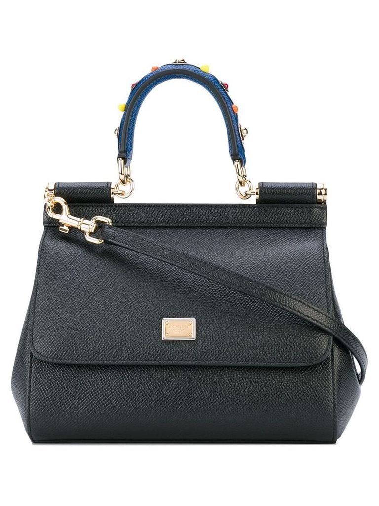 Dolce & Gabbana mini Sicily shoulder bag - Black