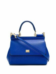 Dolce & Gabbana Sicily shoulder bag - Blue