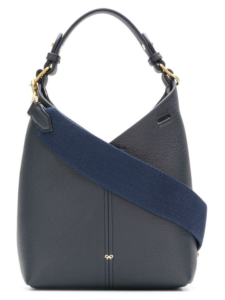 Anya Hindmarch mini build a bag - Blue