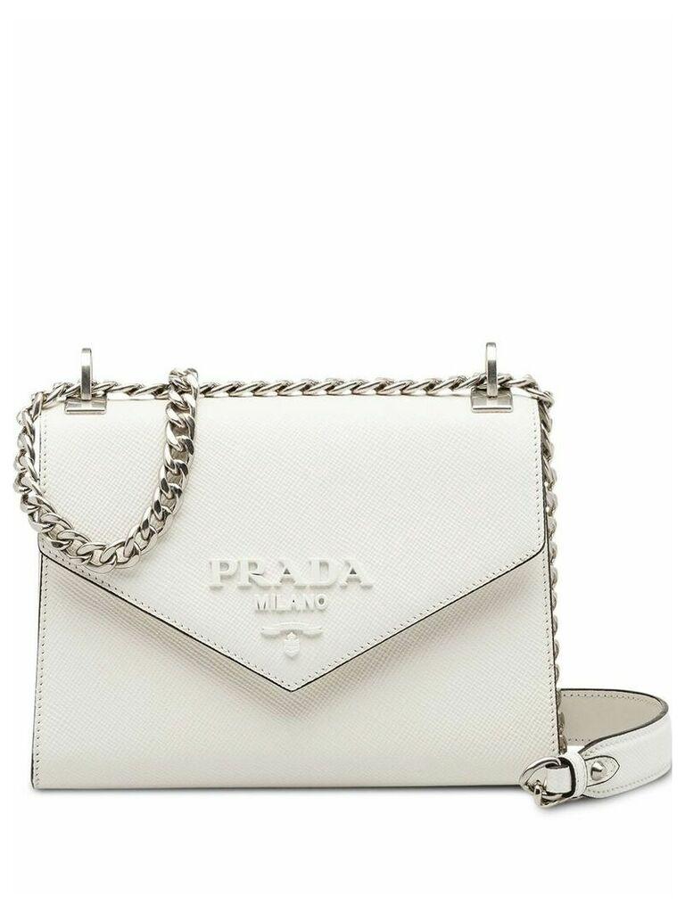 Prada Prada Monochrome Saffiano leather bag - White